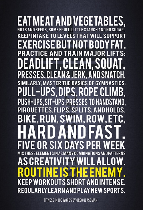 crossfit rules règles du crossfit