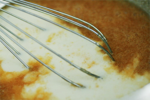 pâte muffins