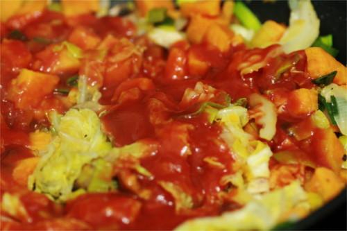 poelee légumes paléo tomate