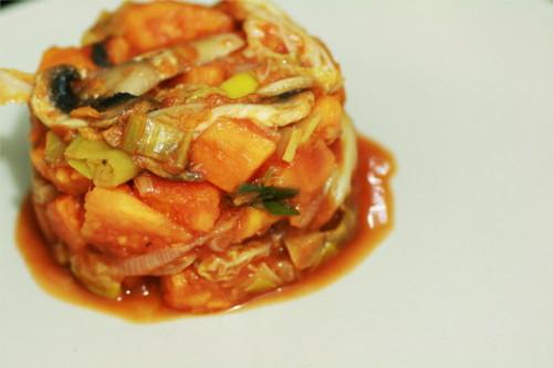 poelee de légumes paléo