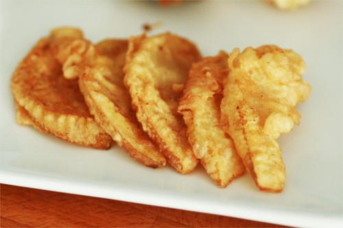 tempura de poire