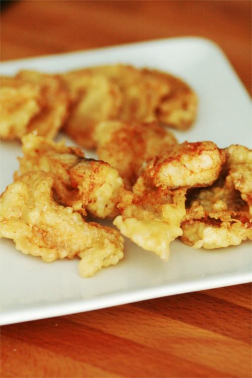 tempura filet lieu noir