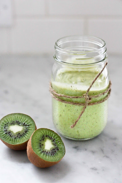 smoothie avocat, kiwi