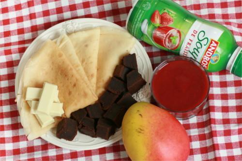 ingrédients bolognaise de fraises