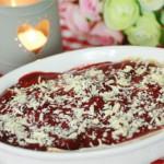 lasagnes sucrées aux fraises