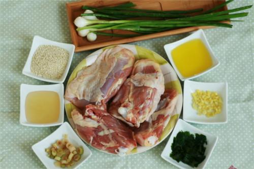 ingrédients poulet croustillant paléo jamie oliver