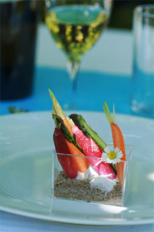 jardinière de légumes pain de seigle