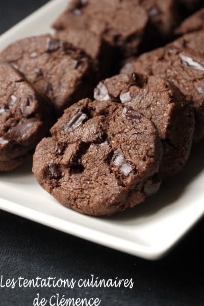 biscuits chocolat fleur de sel