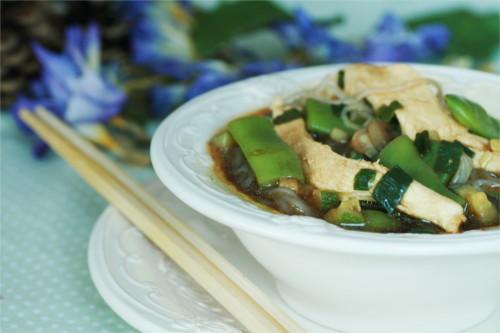 bouillon chinois pâte de konjac (recette zone)