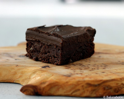 brownie banane ganache avocat