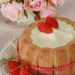 charlotte fraise tiramisu