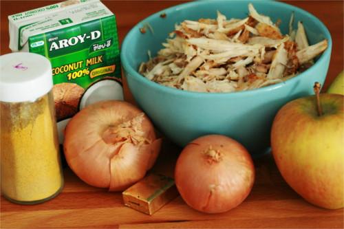 curry poulet ingrédients