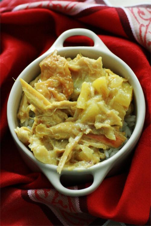 curry de poulet aux pommes paléo