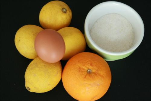 ingrédients glace citron