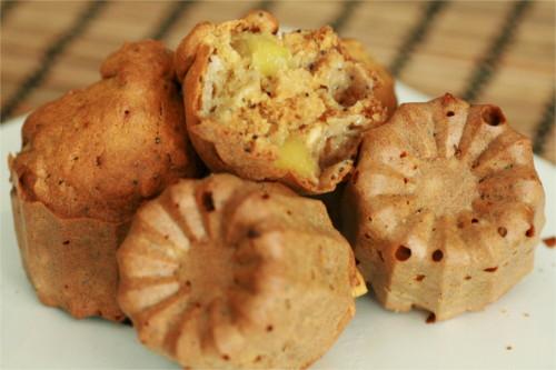 muffins pavot et pommes