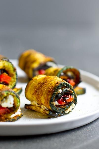 rollups zucchini primal