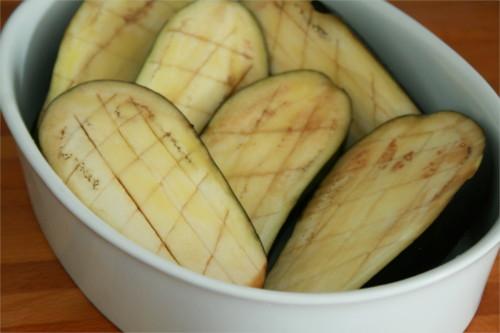 aubergines quadrillées