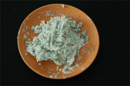 fromage frais et roquefort