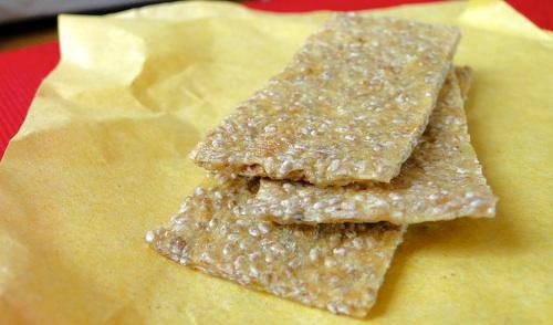 crackers mangues chia