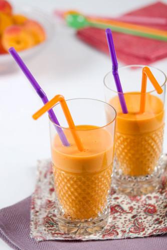 smoothie abricot lait d'amande