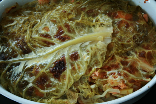 lasagne de chou