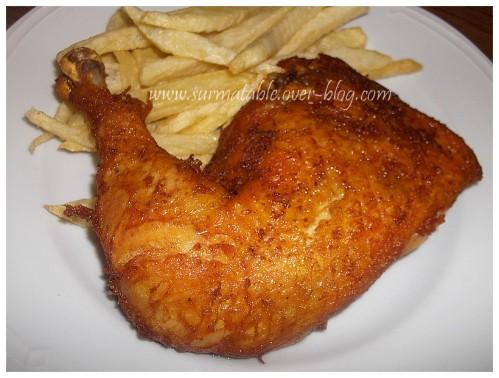 cuisse poulet fondante épicée