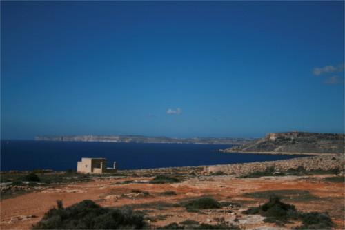 Vue sur Gozo