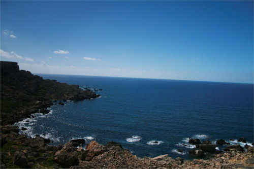 vue depuis la côte