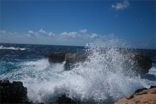 vagues à Gozo