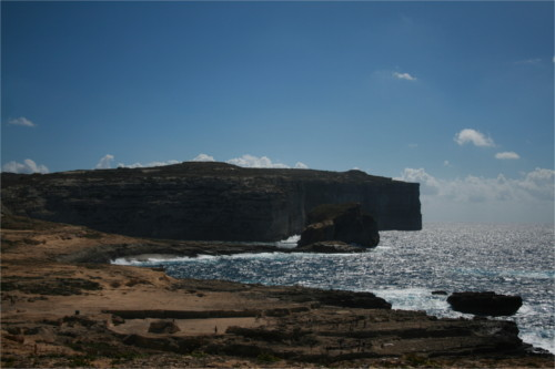 Le fungus rock à Gozo