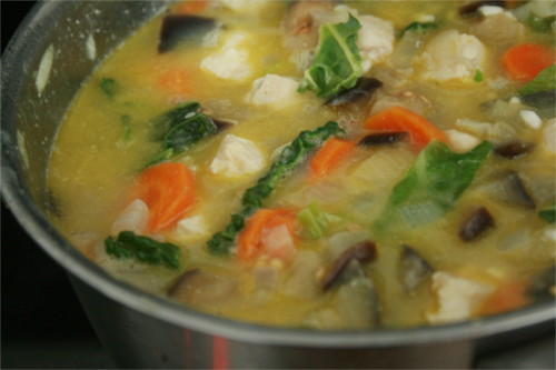 risotto aux légumes automne