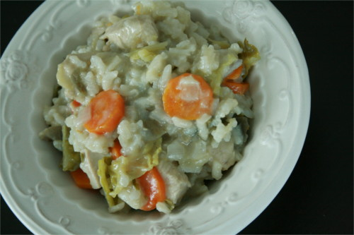 risotto légumes automne