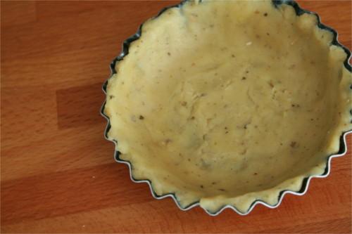 foncer un plat à tartelette