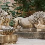 Les lions du musée de l'armurerie