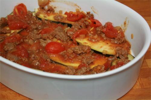 lasagne d'aubergine paléo