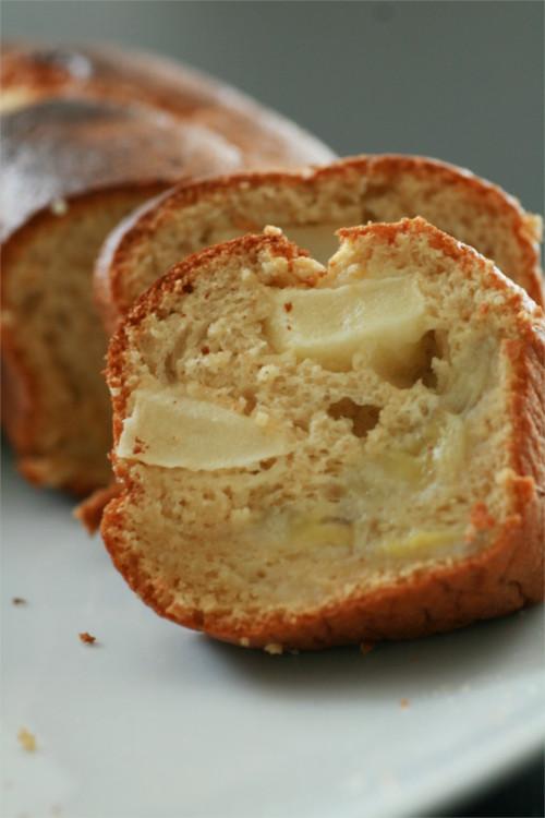 moelleux pommes banane sans lactose et sans beurre