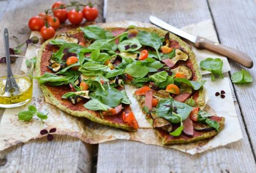 pizza croûte de brocoli