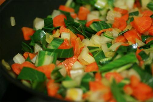 poêlée de légumes d'hiver