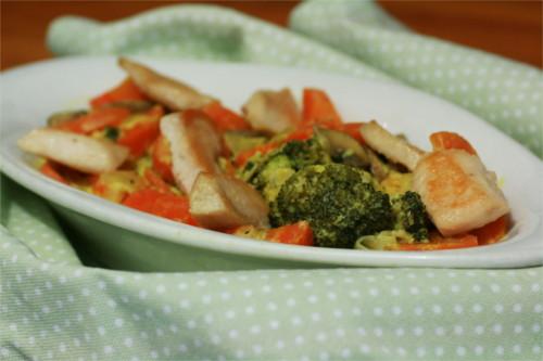 cocotte poulet carotte brocoli