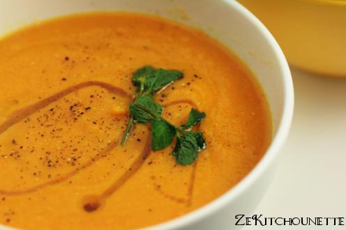 Soupe de lentilles corail et carottes zekitchounette - Recette comment cuisiner les lentilles ...