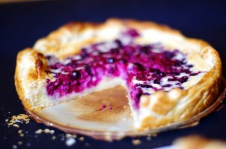 tarte amandine fruits rouges