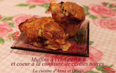 Muffins ossau iraty cerises noires