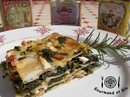 lasagne épinard feta chevre