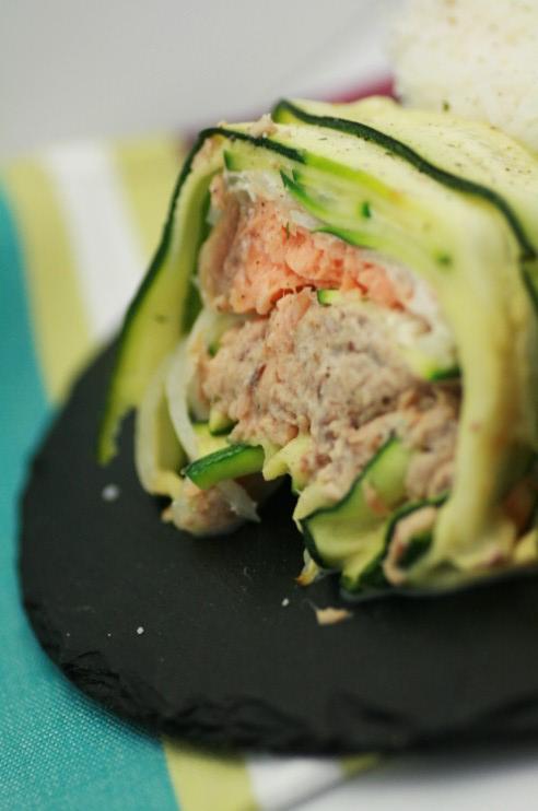 terrine courgette saumon thon