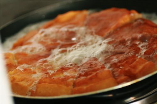 omelette cuite