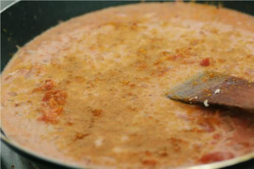 lait de coco et curry