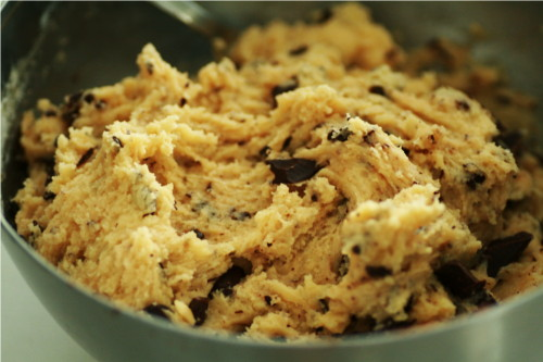 pâte cookie pépites