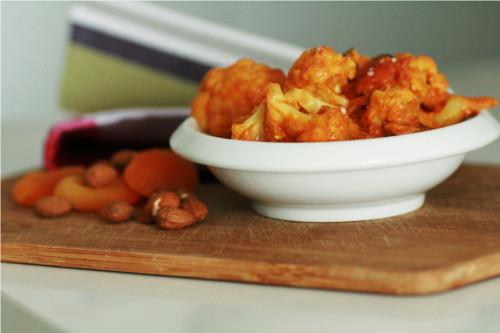 curry poulet chou fleur