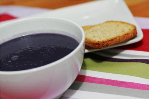 soupe de chou rouge