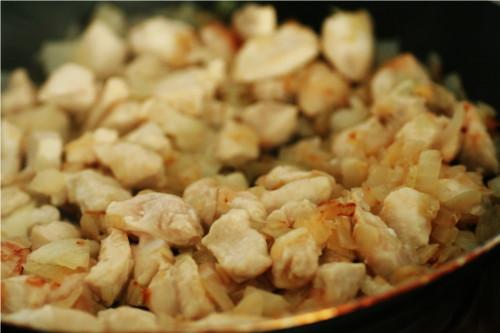 poulet oignon